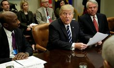 Trump Demands Lower Prices In Meeting With Top Drugmakers