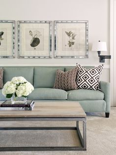 Spaces Brown Aqua Living Room Design, Pictures, Remodel, Decor and Ideas - page 2