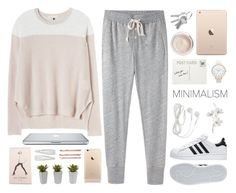 """""""Untitled #1200"""" by alexandra-provenzano ❤ liked on Polyvore featuring adidas, Steven Alan, Rebecca Taylor, Club Monaco, Olivia Burton, Rifle Paper Co, Dr. Sebagh, Nearly Natural, Madewell and Pier 1 Imports"""