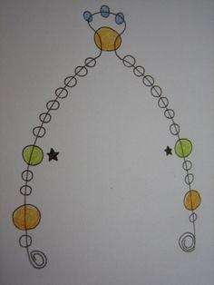 """以前ブログで""""ティアラの作り方""""と題して、 簡単なティアラの作り方の、 ほんのさ..."""