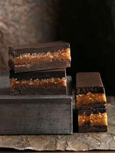 Caramel Crunch Brownie | Donna Hay