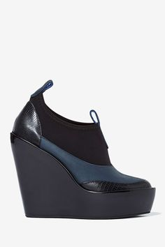 Jeffrey Campbell Soju Leather Wedge