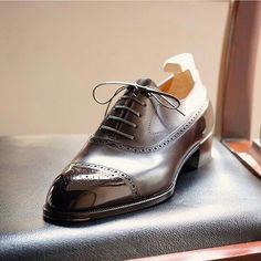 Long Wing Oxford by Yohei Fukada (Japan).........polished!........S
