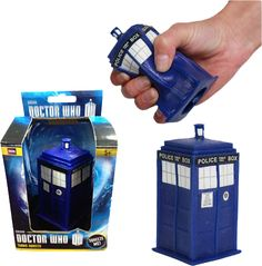 Calm the Whovian in your life with this stress relieving TARDIS squeezee. Shed the anxiety of fearing for your favourite Time Lord's life by squishing this type 40 replica. Another great Doctor Whoproduct proudly brought to you by Popcultcha, Australia's largest and most comprehensive Doctor Whoonline store. Clickhereto see the full range of our Doctor Whoproducts.