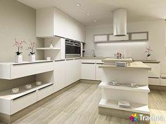 T-acrylic (Nábytková dvířka: Tvar Fólie pro dvířka: - bílá mat) Corner Desk, Kitchen Cabinets, Interior Design, Furniture, Home Decor, Corner Table, Nest Design, Decoration Home, Home Interior Design