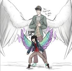 I love this too much.<---This looks like a Maximum Ride Crossover to me, so it's going here.