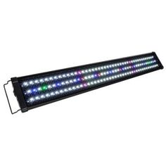 This Upgraded Colorful Full Spectrum LED Aquarium Light with Extendable Brackets is great for your aquariums. It is not only helps algaes to grow more luxuriant but also makes your aquatic plants hav...