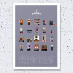 I'm a Dublin based artist who designs jewellery and custom prints. My work is featured in the JamArt Factory stores in Temple Bar. Temple Bar, Dublin, Calendar, Prints, Life, Life Planner