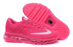 Nike Air Max 2016 Flyknit Women Rose/Red
