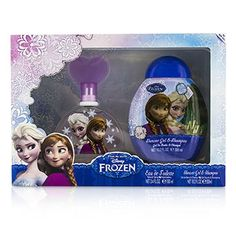 Air Val International - Disney Frozen Coffret: Eau De Toilette Spray 100ml/3.4oz + Shower Gel & Shampoo 300ml/10.2oz (F) | SK