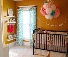 i best have a girl because I am so in love with all the bright popping colors...  I like that I'm not even pregnant but I love baby rooms.. HA!