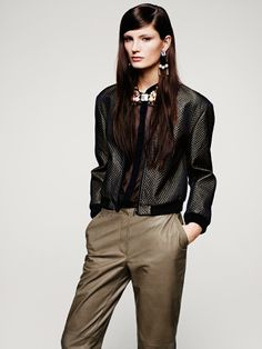 Ava Smith for H Fall 2012 Lookbook