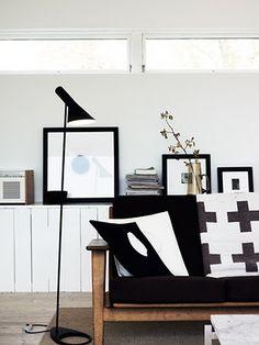 Via Aniliini | Arne Jacobsen Lamp | Cross Blanket