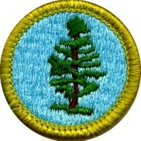 Either the Cycling merit badge OR the Hiking merit badge OR the ...