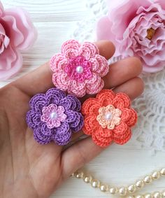 Excited to share the latest addition to my #etsy shop: Crochet flower PATTERN https://etsy.me/2wdqgjS