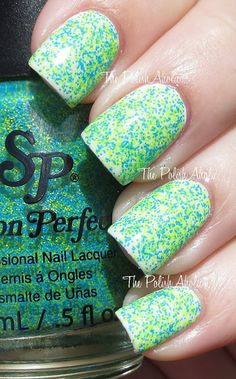 Salon Perfect Neon Collision Collection -  Kaboom over OPI  My Boyfriend Scales Walls