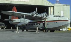 Ansett Flying Boat Services Short Sunderland 23 C Class Empire Flying Boat (VH-BRF) repainted in Delta livery 1970 Airplane Flying, Flying Boat, Short Sunderland, Float Plane, Airline Travel, Aircraft Photos, Sea Planes, Air Space, Fighter Jets