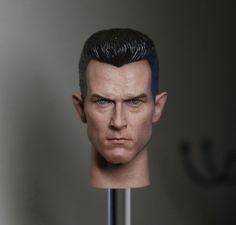 """46.00$  Buy here - http://ai9nr.worlditems.win/all/product.php?id=32764760097 - """"1:6 scale male Figure accessories Terminator 2: Judgment Day T1000 head shape carved for 12"""""""" Action figure doll"""""""
