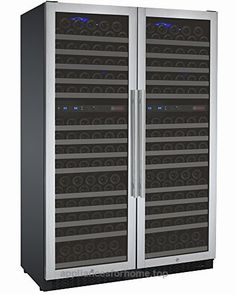 Allavino FlexCount 2X-VSWR172-2SST – 344 Bottle Multi-Zone Wine Refrigerator – Side by Side  Check It Out Now     $2,899.99    Easily store up to 344 bottles of various sizes with Allavino's 2X-VSWR172-2SST Multi-Zone Wine Cellar Refrigerato ..  http://ww