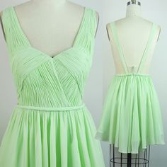 A-Line Sweetheart Short Empire Chiffon Backless Mint Green Homecoming/Prom Dress With Ruched