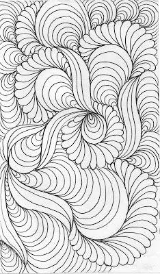 LuAnn Kessi: Quilting Sketch Book.....Background Fill