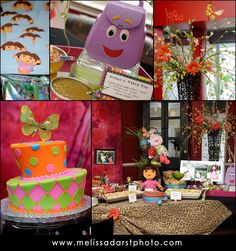 dora & diego birthday party part one: the details » Melissa Darst Photography Blog