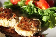 Vegan Risotto Cakes with Canellini Beans and Chia Seeds