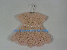Mis souvenirs tejidos: Vestidito tejido al crochet