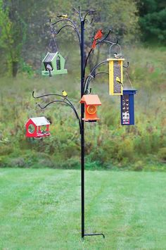 Bird Feeder Stands, Diy Bird Feeder, Bird Feeder Poles, Bird Feeder Hangers, Rustic Bird Feeders, Metal Bird Feeders, Gardman Bird Feeders, Bird Feeding Station, Bird House Kits