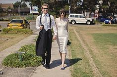 What a stylish pair of newlyweds! | photo by Julian Beattie | Bridal Musings