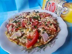 Makaron, jajka i dodatki czyli wypasiony omlet