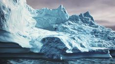 Perspective: Artist Zaria Forman Shares the Inspiration behind Her Large Scale Pastel Waves and Icebergs waves water pastel ice drawing docu...