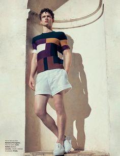 Simon Nessman for Numéro Homme SS 2016 by Carlotta Manaigo