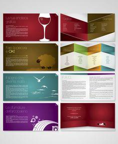 Studiografik - Booklet by Saverio Giove, via Behance