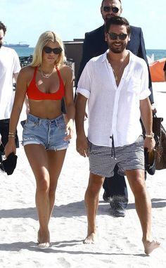 Scott Disick Shares Photos of Sofia Richie in Bikinis in Mexico