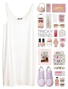 """""""#platformsneakers"""" by ffashioninspire ❤ liked on Polyvore featuring H&M, Shellys, Bobbi Brown Cosmetics, Marc by Marc Jacobs, Sur La Table, Cath Kidston, STELLA McCARTNEY, Witchery, Bloomingville and Kate Spade"""