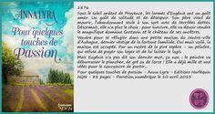 Chronique par Mon paradis des livres Anna, Passion, Paradis, Touch, Historical Romance, Livres