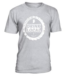 Drink Local Indiana Craft Beer Bottle Cap T-Shirt . Special Offer df3a87c83