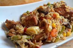 Pork Recipes, Chicken Recipes, Cooking Recipes, A Food, Good Food, Romanian Food, Romanian Recipes, Tomato Mozzarella, Fried Rice