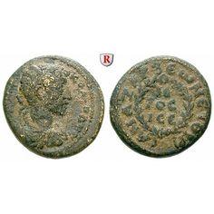Römische Provinzialprägungen, Kilikien, Anazarbos, Commodus, Assarion 180/181 (Jahr 199), s-ss: Kilikien, Anazarbos. AE-Assarion 21… #coins