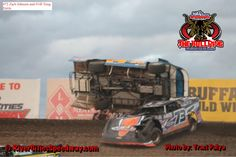 River Cities Speedway Late Model Crash