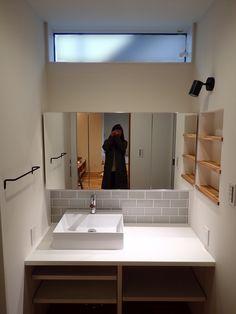 Washroom, Dressing Room, Bathroom Lighting, Mirror, House, Furniture, Home Decor, Bathroom Light Fittings, Walk In Closet