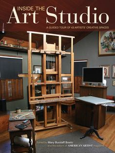"""Read """"Inside The Art Studio A Guided Tour of 37 Artists' Creative Spaces"""" by available from Rakuten Kobo. Take a tour of artists' studios! Whether you're looking to upgrade your own studio or just love peeking into the workpla. Art Studio Design, Art Studio At Home, Home Design, Art Studio Spaces, Garage Art Studio, Art Studio Room, Art Spaces, Design Art, Studios D'art"""