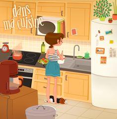 kitchen by ma-y-elle.deviantart.com on @DeviantArt