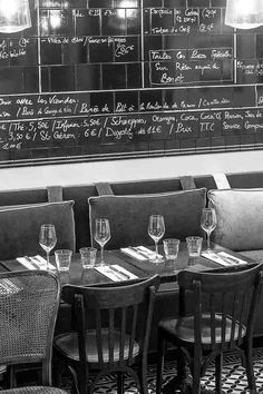 Le Bon Georges Paris Bistro - simply perfect French Bistro. Wish I was going there tonight.
