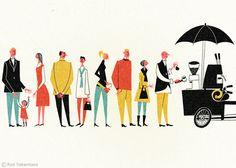 Roy Takemasa retro ilustration