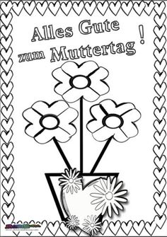 Coloring Pages, Kindergarten, Cards, Mothers Day Coloring Pages, Mothers Day Crafts, Quote Coloring Pages, Kindergartens, Kids Coloring, Maps