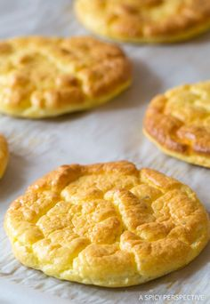 Must Make! The Best Cloud Bread Recipe #lowcarb #glutenfree #grainfree