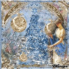 Blue Christmas Tree/ animated http://bln.gs/b/271tam