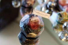 Unique Gemstone Candle 3pcs Set Mysterious candle Best Gift
